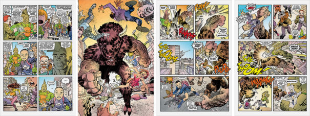 Preview Pages for Savage Dragon #235