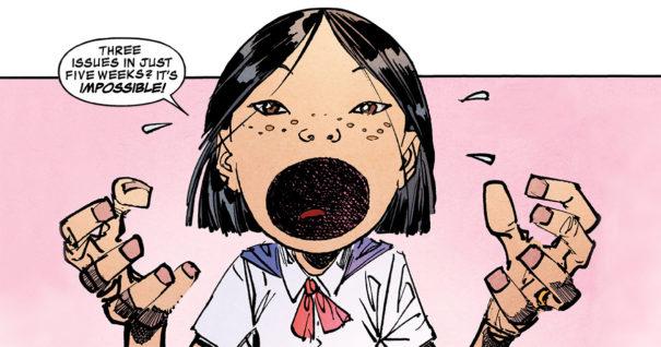 Panel from Savage Dragon #229