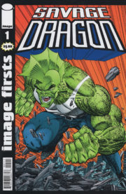 Cover Image Firsts: Savage Dragon #1