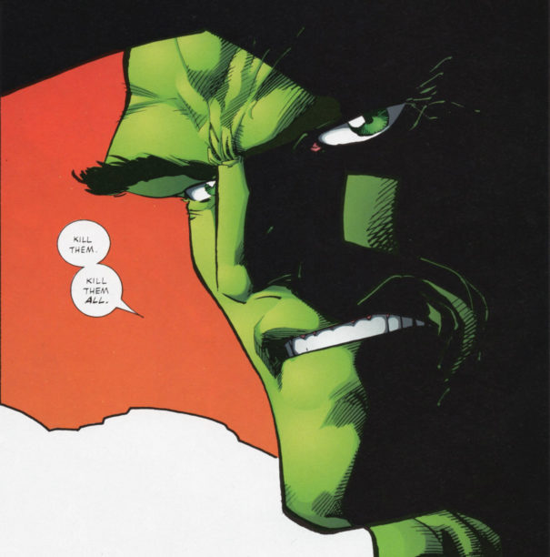 Savage Dragon as Emperor Kurr