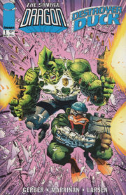 Cover Savage Dragon / Destroyer Duck