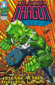 Cover Savage Dragon Vol.1 #1 blue variant
