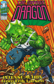 Cover Savage Dragon Vol.1 #1 green variant