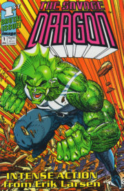 Cover Savage Dragon Vol.1 #1 white variant