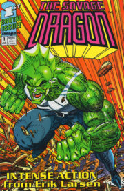 Cover Savage Dragon Vol.1 #1 yellow variant