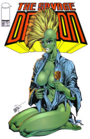 Cover Savage Dragon Vol.2 #40b She-Dragon Variant
