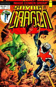 Cover Savage Dragon Vol.2 #77b WildStar Variant