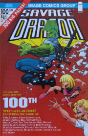 Cover Savage Dragon Vol.2 #100b 2nd Printing Variant