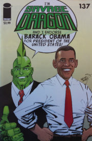 Cover Savage Dragon Vol.2 #137b Variant 1st Printing