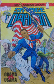 Cover Savage Dragon Vol.2 #145c Obama vs. Osama Variant