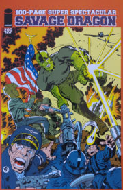 Cover Savage Dragon Vol.2 #200b Jack Kirby Homage Variant