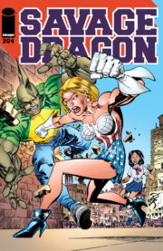 Cover Savage Dragon Vol.2 #204