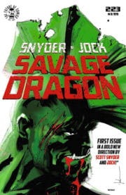 Cover Savage Dragon Vol.2 #223b Jock Variant