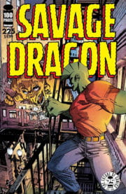 Cover Savage Dragon Vol.2 #225b Frank Fosco Variant