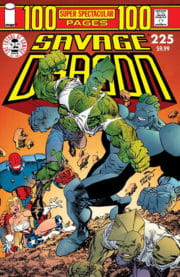 Cover Savage Dragon Vol.2 #225c Dragon vs. Draklord Variant