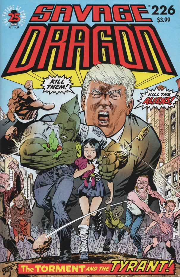 Cover of Savage Dragon #226