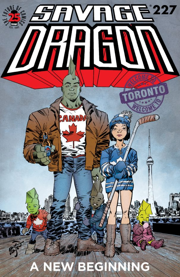 Cover Savage Dragon #227