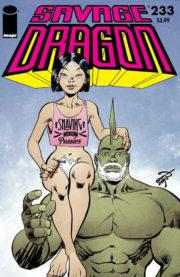 Alternate cover version of Savage Dragon Vol.2 #233