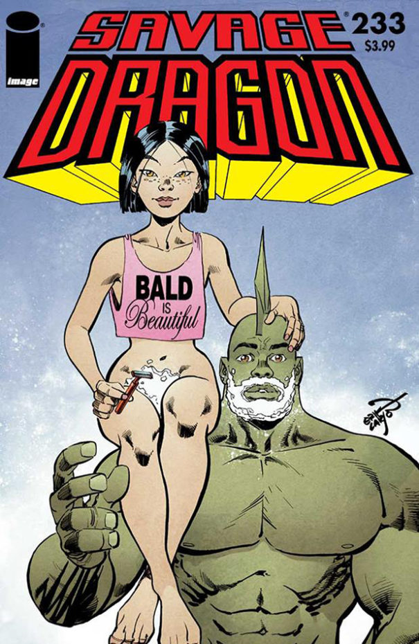 Cover for Savage Dragon #233
