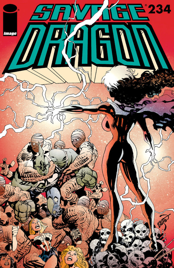 Cover of Savage Dragon Vol.2 #234
