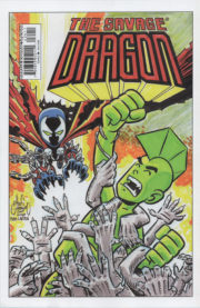 Backcover of Savage Dragon Vol.2 #234