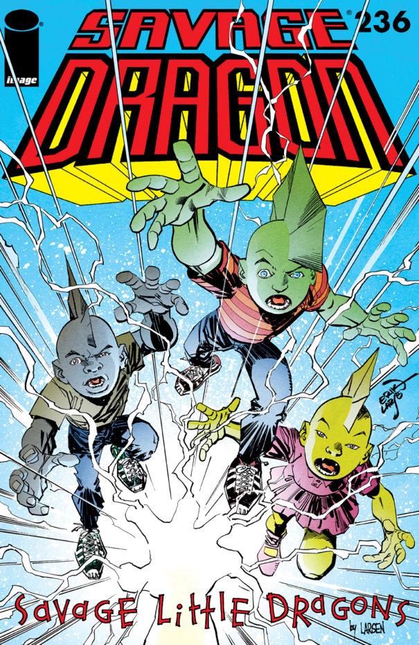 Cover Savage Dragon #236