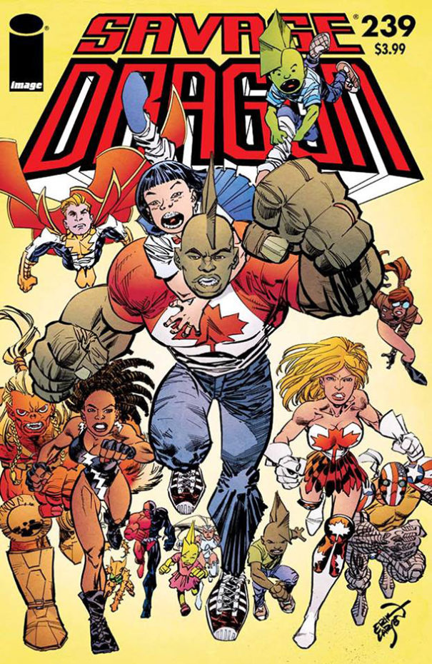 Cover Savage Dragon #239