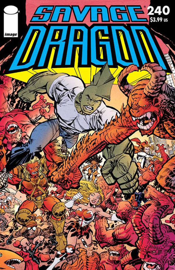 Cover Savage Dragon #240