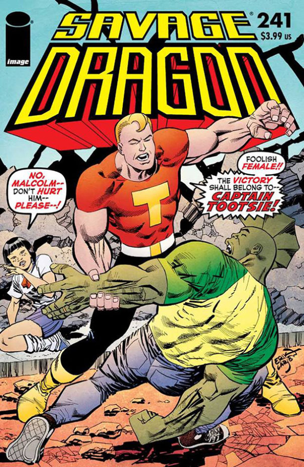 Cover Savage Dragon #241