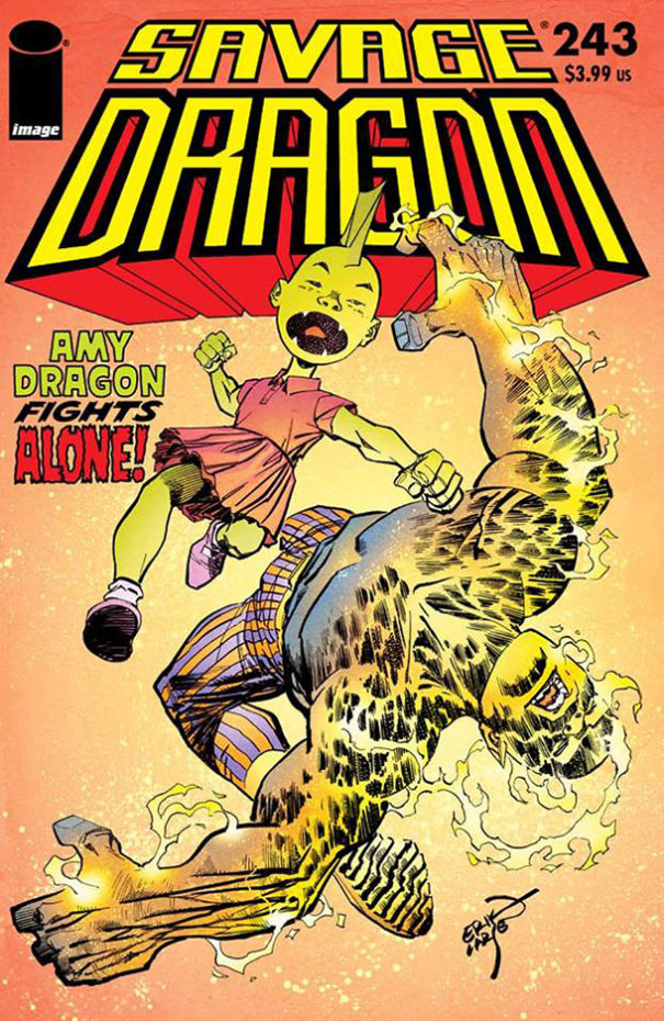 Cover Savage Dragon #243
