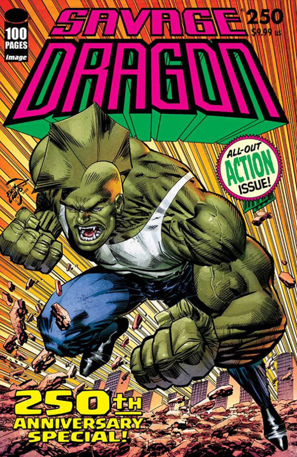 Cover Savage Dragon #250