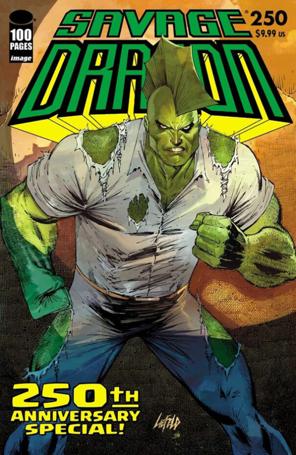 Cover Savage Dragon Vol.2 #250