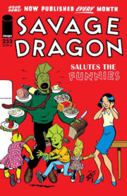 Cover Savage Dragon Vol.2 #252