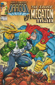 Savage Dragon vs. Savage Megaton Man #1 Gold Foil Variant