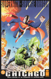 Cover Superman / Savage Dragon: Chicago