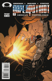 Cover Superpatriot Vol.3 America's Fighgting Force #4